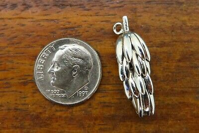 Vintage sterling silver HAND CLUSTER BUNCH OF BANANAS 3D charm