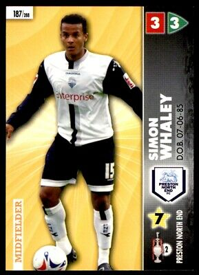 Panini Coca-Cola Championship (2007) Card - Simon Whaley Preston North End #187