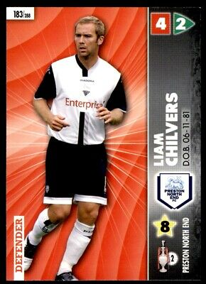 Panini Coca-Cola Championship (2007) Card - Liam Chilvers Preston North End #183