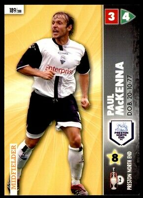 Panini Coca-Cola Championship (2007) Card - Paul McKenna Preston North End #189