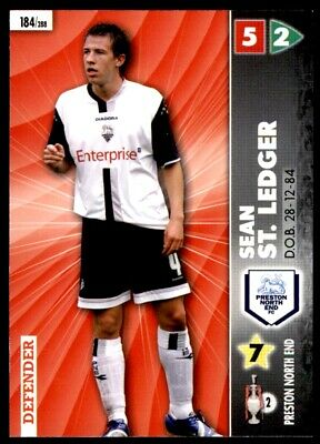Panini Coca-Cola Championship (2007) Card - Sean St. Ledger Preston #184