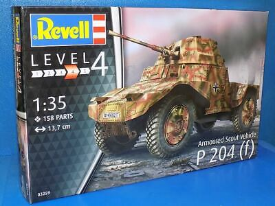 Revell 1/35 03259 Armoured Scout Vehicle P204(f) - Model Kit