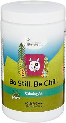 Be Still Be Chill Calming Aid Soft Chews for Dogs and Cats - 60 Count