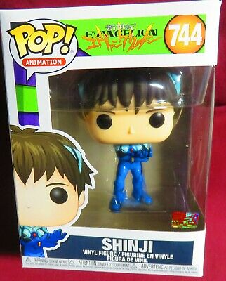 "SHINJI, POP ANIMATION from ""EVANGELION"" BRAND NEW FOUR INCH FIGURE, #744"