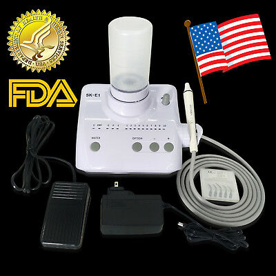 Portable Dental Ultrasonic Piezo Scaler Bottles EMS WOODPECKER Style FDA E1 BTRX