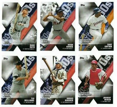 Decade of Dominance Die-Cut Complete Your Set 2020 Topps Series 1 You U Pick