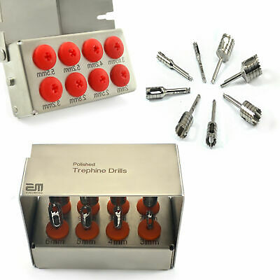 Surgical Trephine Drills Bone Expander Kit External Irrigation Oral Surgery New