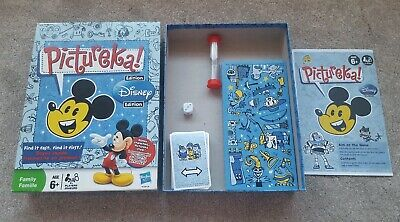 Pictureka! Disney edition  Find it fast,find it first! Board Game by Hasbro VGC