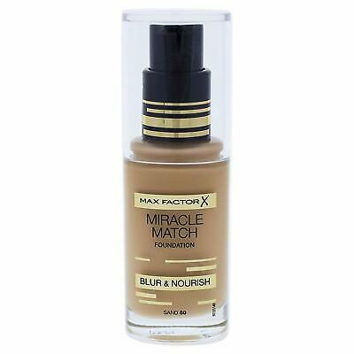 Maxfactor X Miracle Match Foundation Blur & Nourish Sand 60 30Ml