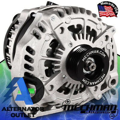 Mechman 370 Amp High Output Alternator Chevrolet / GMC / Cadillac / Hummer Truck
