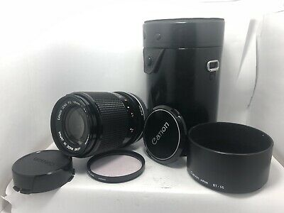 [Near Mint] CANON FD 1:3.5 S.C. F=135mm Telephoto Portrait Lens From Japan  #96