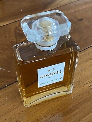 Authentic Chanel No5 Eau de Parfum Spray Perfume 3.4oz 95% Full - No Reserve