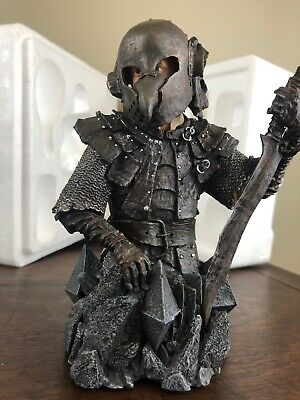 Lord of the Rings Frodo Baggins in Orc Armor Mini Bust Figurine Gentle Giant