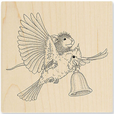 HUMMINGBIRD Nectar Seeker Wood Mounted Rubber Stamp Stampendous M333 NEW