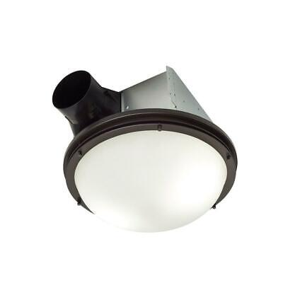 NuTone InVent Decorative Oil-Rubbed Ceiling Installation Bathroom Exhaust Fan
