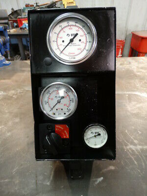 SPX Power Team HT50A Hydraulic Flow Meter, Tester.