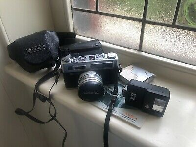 Yashica Electro 35 GSN, Flash,  Auxiliary Telephoto & Wide Angle Lenses, Excell