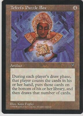 MTG Slightly Played Cond FREE SHIPPING! 8th Edition 2x Teferi/'s Puzzle Box