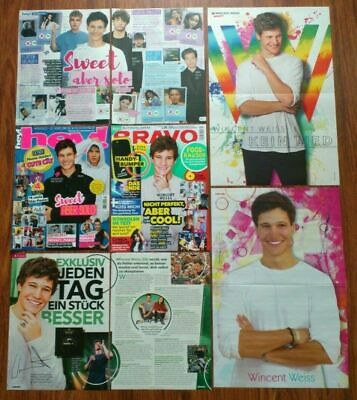 Wincent Weiss posters articles clippings