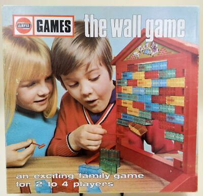The Wall Game - Airfix Games, exciting family game, 3 sprachige Anleitung, 1969