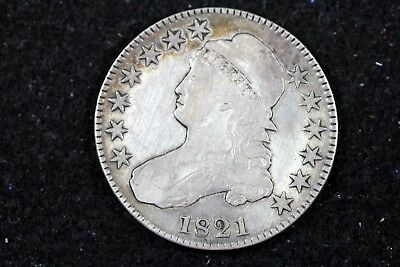 ESTATE FIND 1821 - Capped Bust Half Dollar!!  #H14557