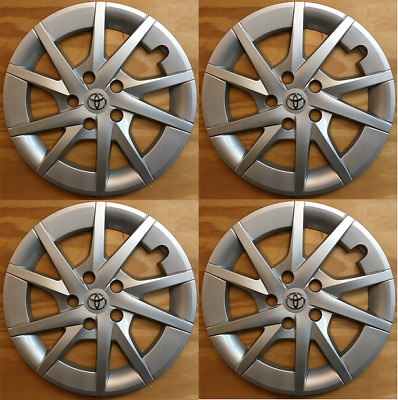 4x Replacements for 2010-2018 Toyota Prius V 16 inch hubcap fits 570-61165