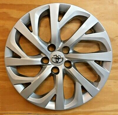 """4 x SILVER Hubcap will fit your 2017 2018 2019 TOYOTA COROLLA 16""""  61181"""