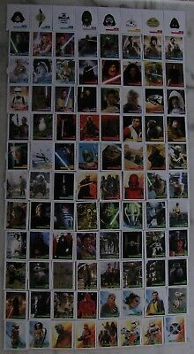 STAR WARS 2019 LECLERC Set Complet 96 Stickers