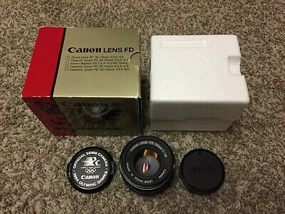 Canon FD 50mm F1.4 PRIME Manual Focus Lens. 1984 OLYMPICS EDITION. EXCELLENT