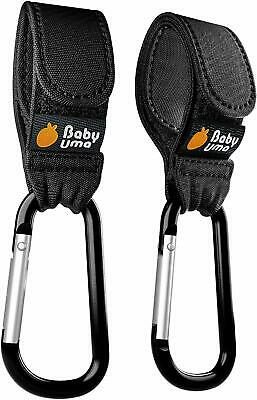 Buggy Clips by Baby Uma - Hook Your Shopping Bags on Your Pushchair or Stroller.