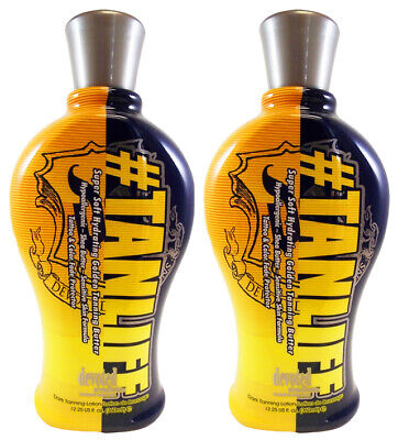Devoted Creations #TANLIFE Golden Tanning Bed Lotion Tan Life 12.25 oz- 2PACK