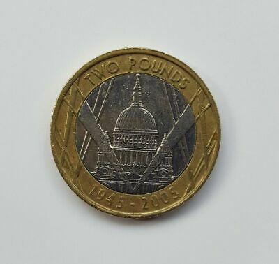CHEAPEST  2005 £2 COINS TWO POUND RARE  st.Paul cathedral