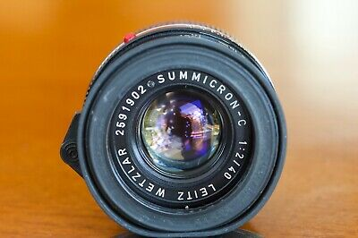 *Near Mint* Collectible Leitz Wetzlar Summicron C 40Mm F/2 Leica Made In Germany