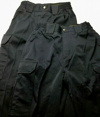 5.11 Tactical Series Womens 6 Pants Navy Blue Cargo New Lot of 2