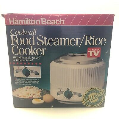 Hamilton Beach Coolwall Food Steamer Rice Cooker