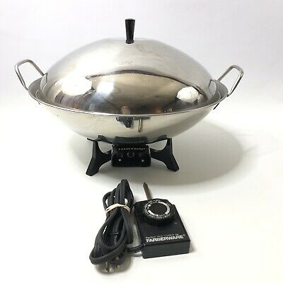 Farberware Electric Wok Model 303 Skillet Pan Fryer Cooker