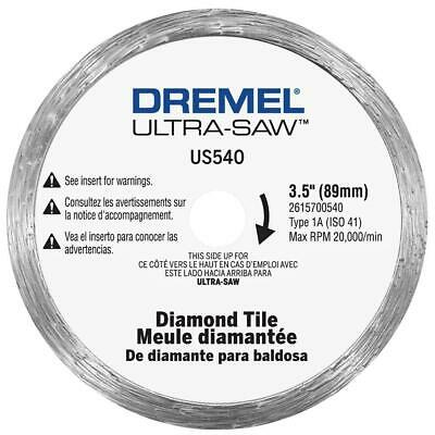 Dremel Ultra-Saw 4 In. Diamond Tile Cutting Wheel For Floor Tile, Wall Tile,