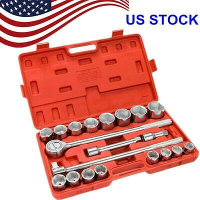 21pcs Combination Hex Allen Bit Socket Set Impact Wrench Carbon Steel US Stock