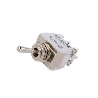 644H Switch toggle 3-position ON-ON-ON 15A/250VAC Leads screw APEM
