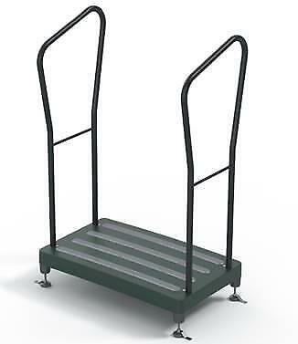 *NEW* Bigfoot Outdoor Height Adjustable Half Step (up to 34st) WITH 2 HANDLES