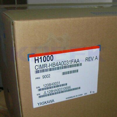 Yaskawa inverter 1pc new CIMR-HB4A0031FAA fast delivery
