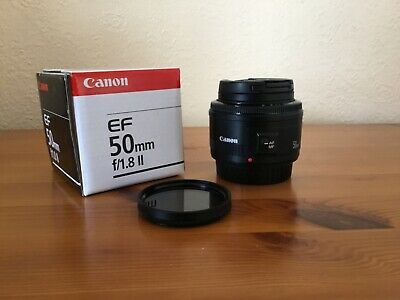 Canon EF 50mm f1.8 Mk II Lens. Excellent condition!