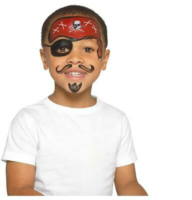 Child Raggy Pirate Party Outfit New Fancy Dress Costume Caribbean Kids Boys BN