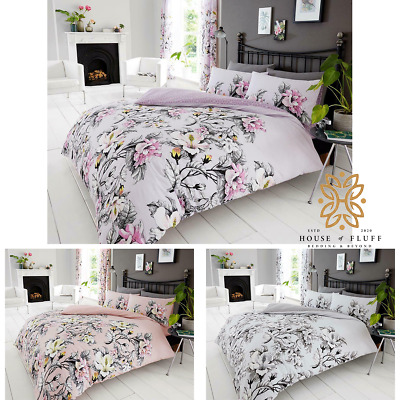 Floral Printed Soft Duvet Cover Set Pillowcase Quilt Bedding Double King SKing