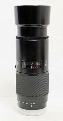 Minolta Maxxum AF Zoom 75-300mm f/4.5-5.6 for Sony A Mount - MUST READ! (0038)