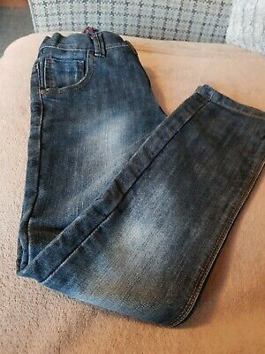 Next Boys Dark Blue Jeans Age 8years Height 128cm