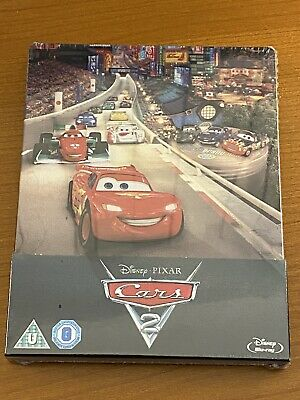 Cars 2 Disney Pixar Bluray Steelbook Zaavi Neuf