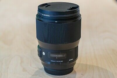 Sigma 135mm f/1.8 DG HSM Art Lens for Canon EF - Excellent Condition