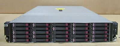 "HP D2700 25 Bay 2.5"" SAS Disk Array AJ941-63002 10x 627195-001 300Gb drive rails"