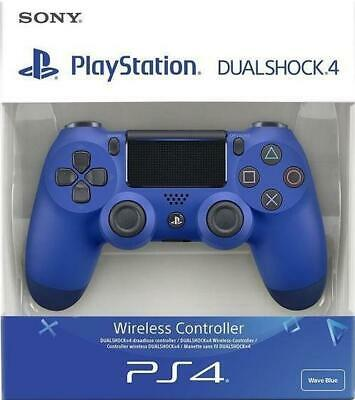 PlayStation 4 (PS4) Wireless Controller Second Generation (BLUE) *New In Box*